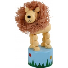 Small Foot Displej Mačkací zvířátko Afrika 1 ks lev