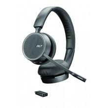 VOYAGER-4220-USB-C Plantronics - bezdrátová bluetooth náhlavní souprava na obě uši, pro mobil a PC, USB-C