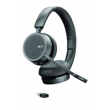VOYAGER-4220-USB-A Plantronics - bezdrátová bluetooth náhlavní souprava na obě uši, pro mobil a PC, USB-A