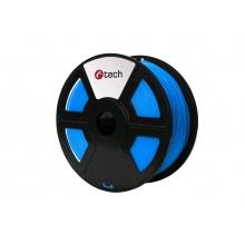 Tisková struna (filament) C-TECH, ASA, 1,75mm, 1kg, modrá