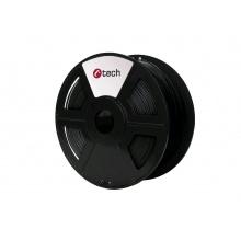 Tisková struna (filament) C-TECH, ASA, 1,75mm, 1kg, černá