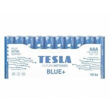 1099137201 Tesla - BLUE Zinc Carbon baterie AAA (R03, mikrotužková, shrink) 10 ks