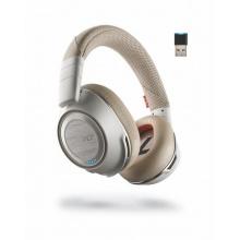 VOYAGER-8200-USB-A-WHITE Plantronics - bezdrátová bluetooth náhlavní souprava pro mobil a PC+USB adaptér, 208769-02