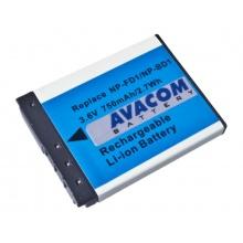 Sony NP-BD1/NP-FD1 Li-Ion 3.6V 750mAh 2.7Wh