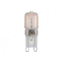 Žárovka LED G9  2,5W bílá teplá RETLUX RLL 293
