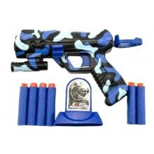Dětská pistole TEDDIES na pěnové náboje 16 cm