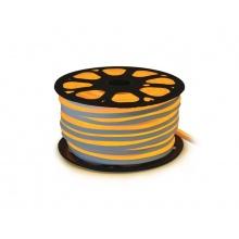 LED neon flexi hadice 230V 120LED/m 12W/m žlutá 50m