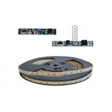 LED pásek sada 20m 12V 5050 60LED/m IP20 max. 14,4W/m bílá teplá extra, gold + TD311 + LSS309