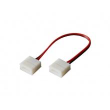Spojka nepájivá pro LED pásky 5050 30,60LED/m o šířce 10mm s vodičem, IP65
