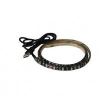 LED pásek s USB Geti GLS34W, 90 cm, teplá bílá