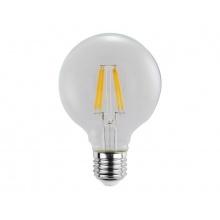 Žárovka Filament LED E27 6W GLOBE bílá teplá RETLUX RFL 222