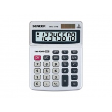 Kalkulačka SENCOR SEC 377/8 DUAL