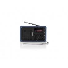Rádio NEDIS RDFM2100BU BLACK/BLUE