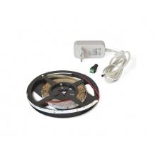 LED pásek sada 5m 12V 335 (boční) 60LED/m IP20 4.8W/m bílá teplá + zdroj