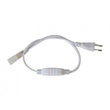 Flexo šňůra pro LED neon hadici 2835, 230V, 0.5m
