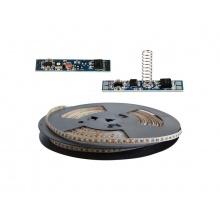 LED pásek sada 20m 12V 3528 120LED/m IP20 max. 9,6W/m bílá teplá extra, gold + TD311 + LSS309