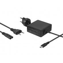 Nabíjecí adaptér USB Type-C 65W Power Delivery + USB A