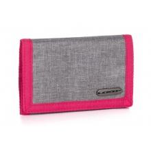 peněženka LOAP WALLETA šedo/růžová