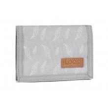 peněženka LOAP WALLETA šedo/bílá