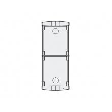 PL72 - zápustná inst. krabička 2 mod., Profilo