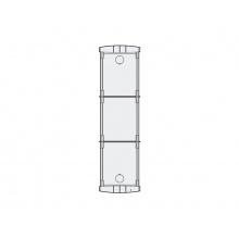 PL73 - zápustná inst. krabička 3 mod., Profilo
