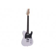 Dimavery TL-401, elektrická kytara, bílá