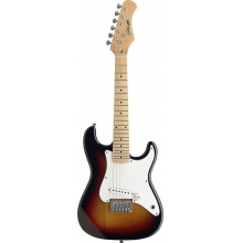 Stagg J200-SB, elektrická kytara, stínovaná, pro děti