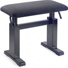 Stagg PBH 780 BKP VBK, hydraulická klavírní stolička