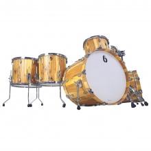 BDC Legend SE Spalted Beech Bass Drum 26x14