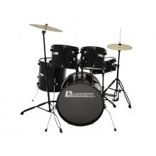 Dimavery DS-200, bicí sada, černá