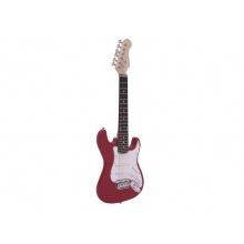 Dimavery J-350 E-Guitar ST, elektrická kytara Junior, červená