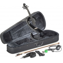 Stagg EVN 4/4 BK, elektrické housle