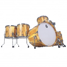 BDC Legend SE Spalted Beech Bass Drum 24x18