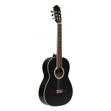 Stagg SCL70-BLK, klasická kytara 4/4, černá