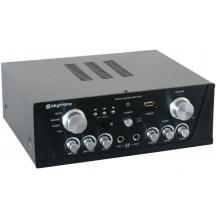 Skytronic AV420B, karaoke zesilovač USB/SD, černý