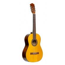 Stagg SCL50 3/4N PACK, klasická kytara 3/4, přírodní s pouzdrem a ladičkou