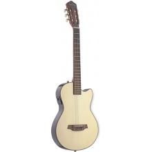 Angel Lopez EC3000CN, klasická kytara s elektronikou, přírodní