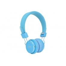 AV:link CH850-BLU, dětská sluchátka s mikrofonem, modrá