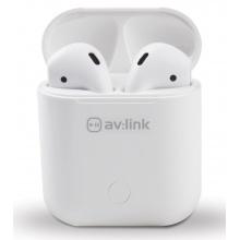AV:link Ear Shots II, bezdrátová sluchátka s bezdrátovým nabíjecím pouzdrem