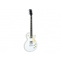 Dimavery LP-700 elektrická kytara, bílá