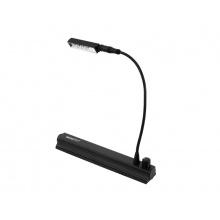 Flexilight LED Stolní, černý design, baterie