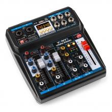 Vonyx VMM-P500, 4-kanálový mix pult s DSP/USB/MP3/BT