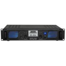 Skytec SPL 700MP3, stereo zesilovač, MP3/SD/USB, 2x 120W