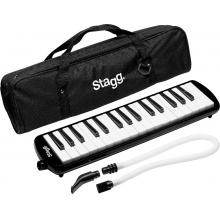 Stagg MELOSTA32 BK, klávesová harmonika, černá