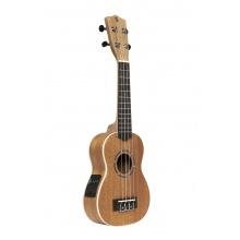 Stagg US-30 E, elektroakustické sopránové ukulele