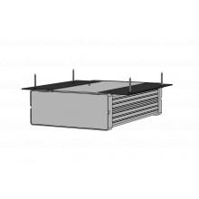 AUDAC MBS101T Instalační příslušenství k montáži 1 jednotky AUDAX S-Box na plochu.