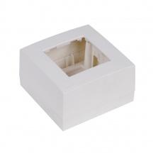 AUDAC WB45S/W Instalační krabice na povrch, bílá