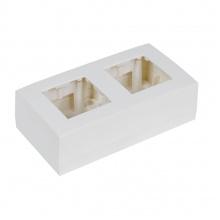 AUDAC WB45D/W Instalační krabice na povrch, bílá