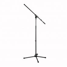CAYMON CST320/B Microphone stand s foldable legs a boom arm, černý