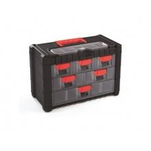 Organizér přenosný/závěsný 7 přihrádek TES PPNS301-R444